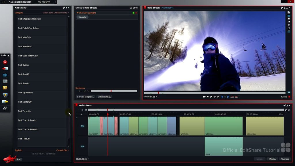 montage video lightworks pro