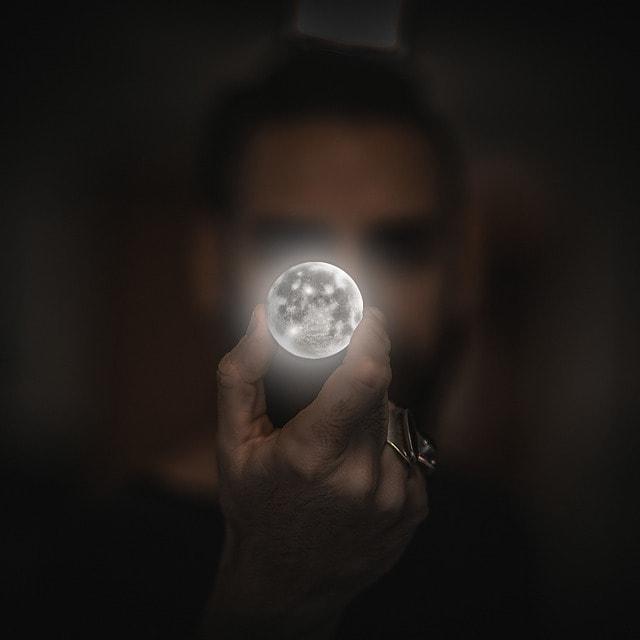 photshop trucage lune