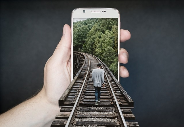 photoshop trucage rails smartphone